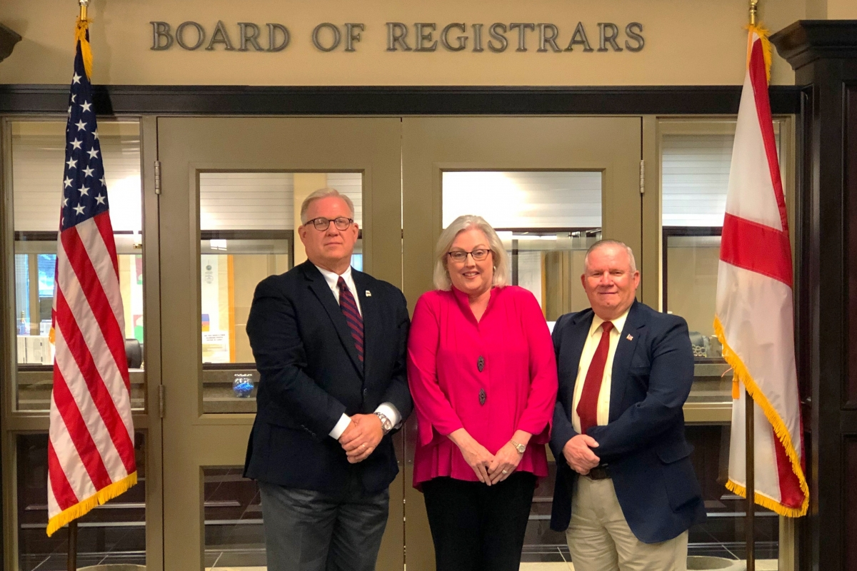 Mobile County Board of Registrars Group Photo